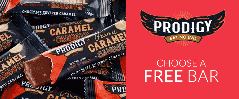Try a FREE Prodigy snack bar with your order