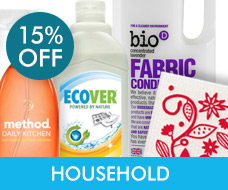 15% off Household & Cleaning