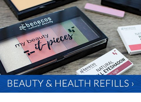 Refillable makeup and personal care