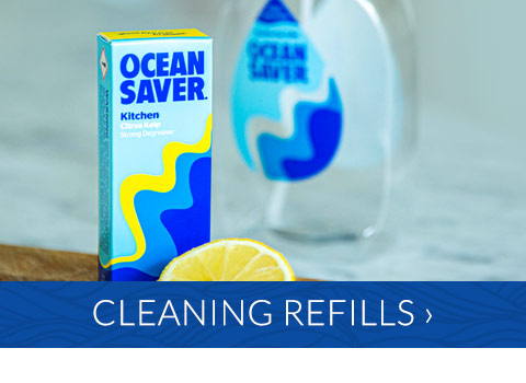 Refillable cleaning