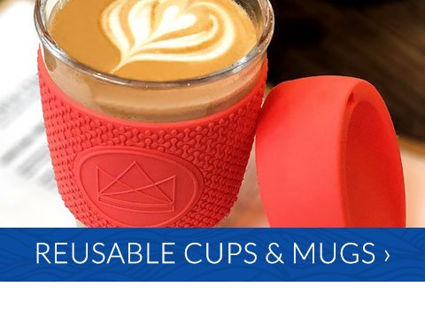 Reusable cups and mugs