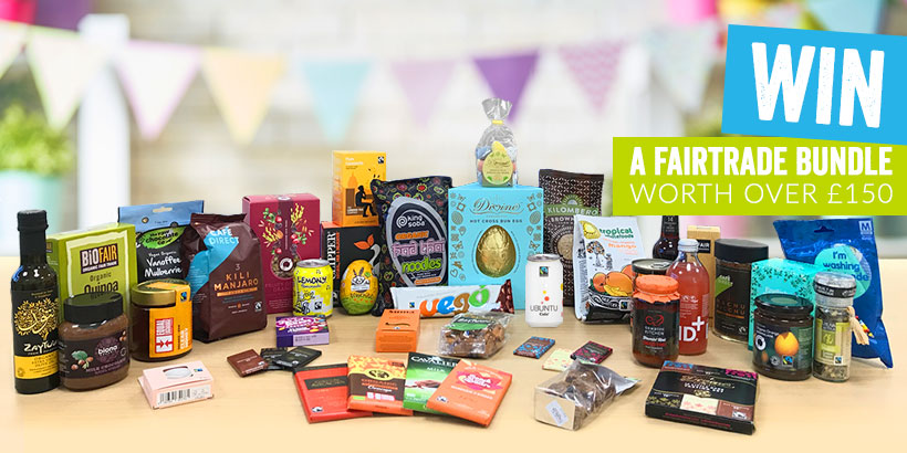 Win a bundle of Fairtrade products