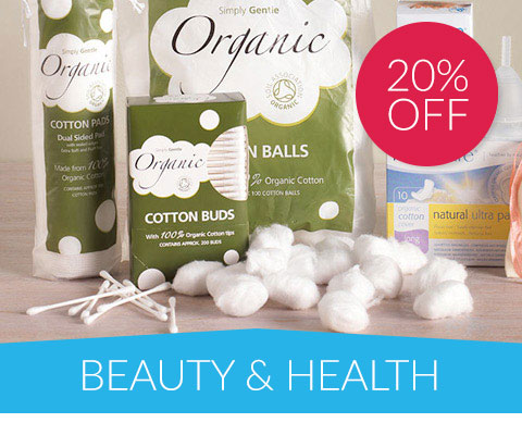 20% off Beauty & Health