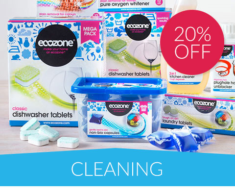 20% off Cleaning & Household