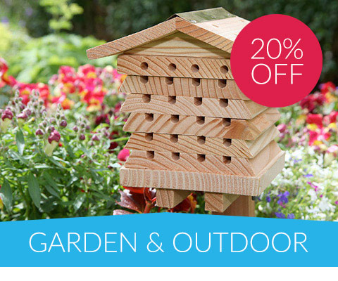 20% off Garden & Outdoor
