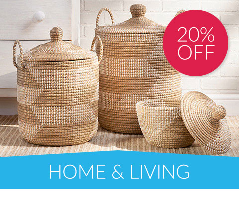 20% off Home & Living