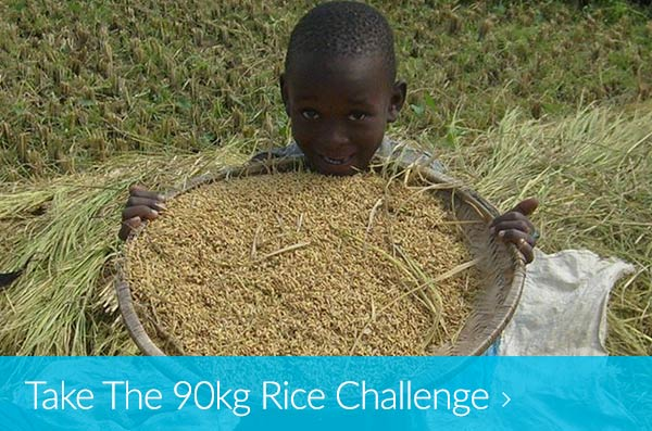 Take The 90kg Rice Challenge