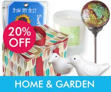 20% off Home & Garden