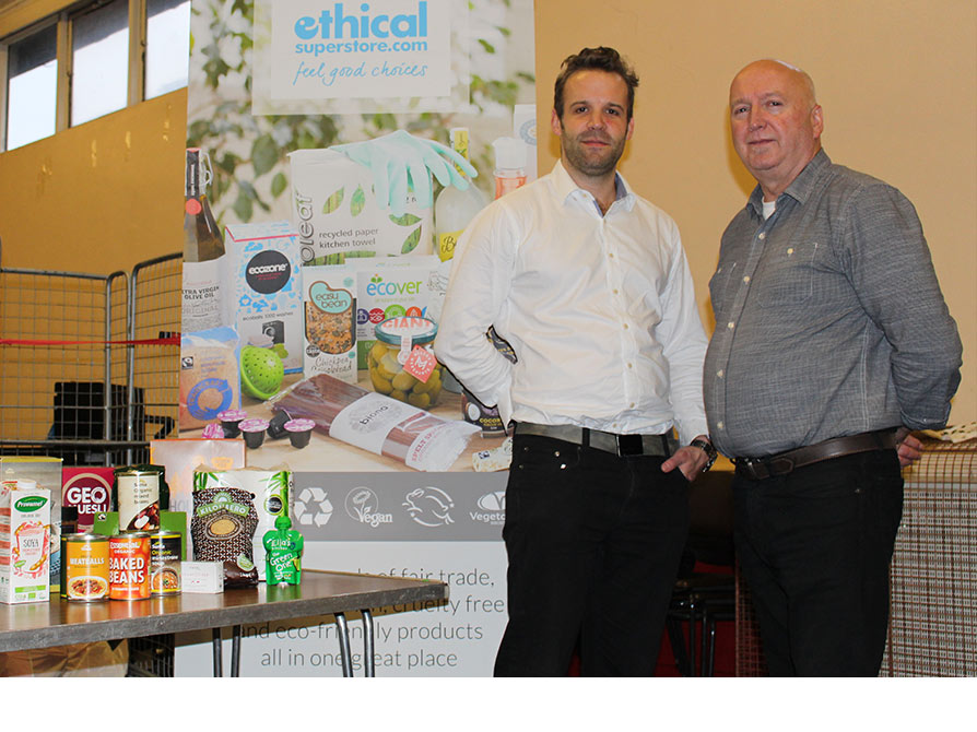 Ethical Superstore at Newcastle West End Foodbank