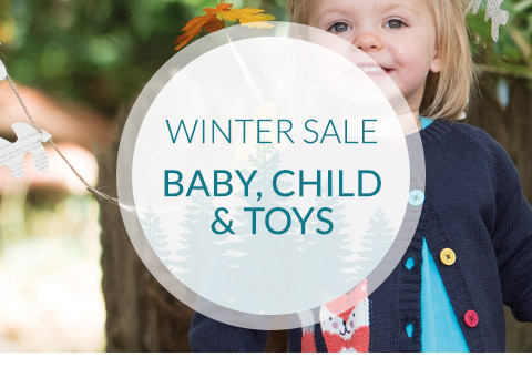Winter Sale - Baby, Child & Toys