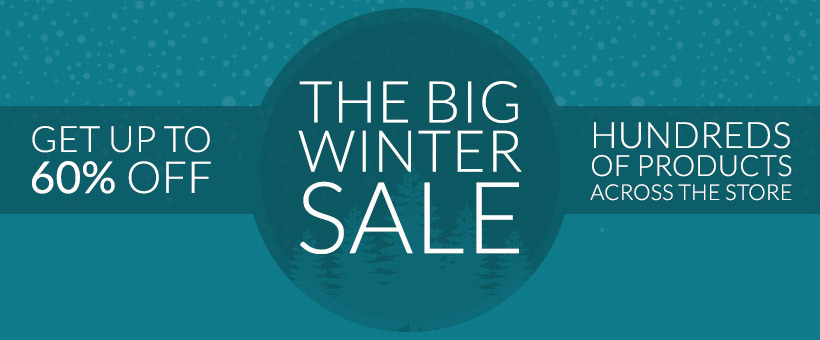 Up to 60% off in the Big Winter Sale - while stocks last!