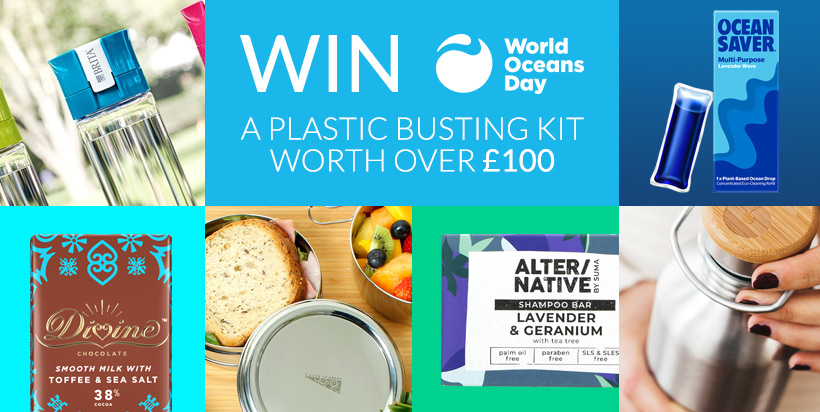 Win a Plastic Busting Kit worth over £100