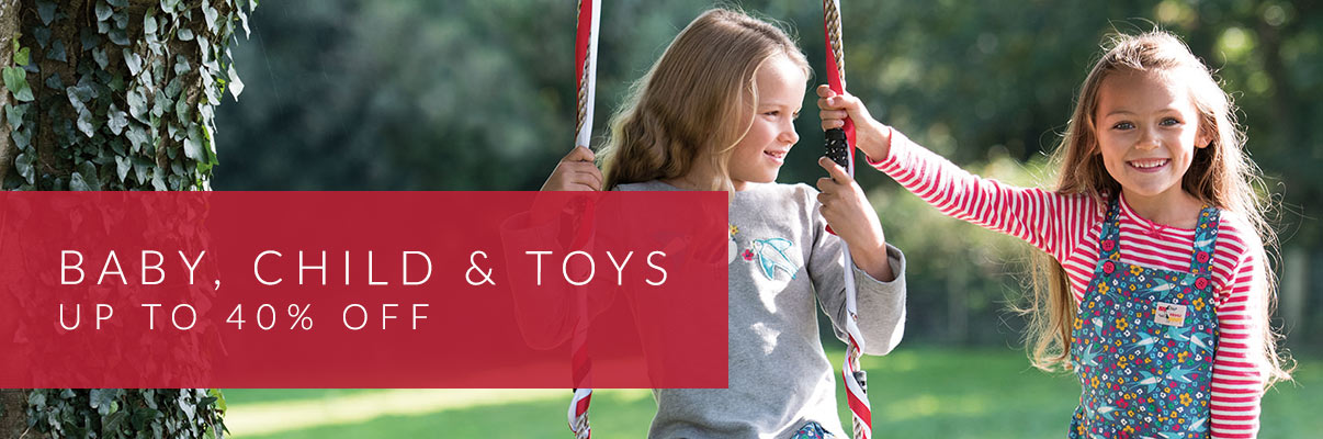Baby, Child & Toys - up to 40% off*