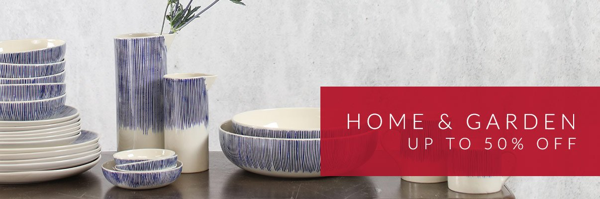 Home & Garden Sale - up to 50% off*