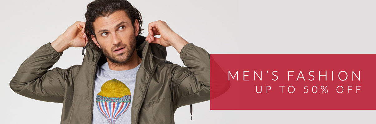 Men's Fashion - up to 50% off*