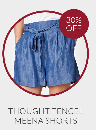 Thought Tencel Meena Shorts - 30% off*