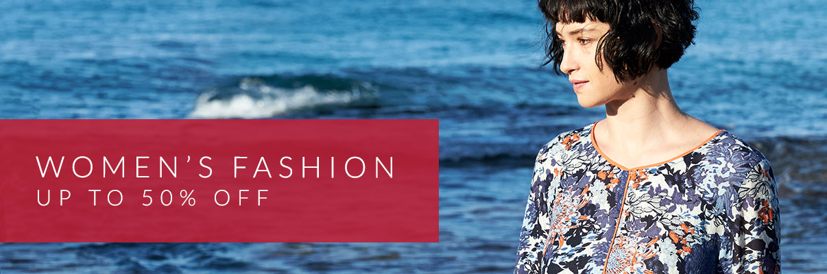Women's Fashion - up to 50% off*