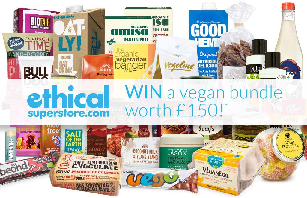 Win a vegan bundle worth over £150!