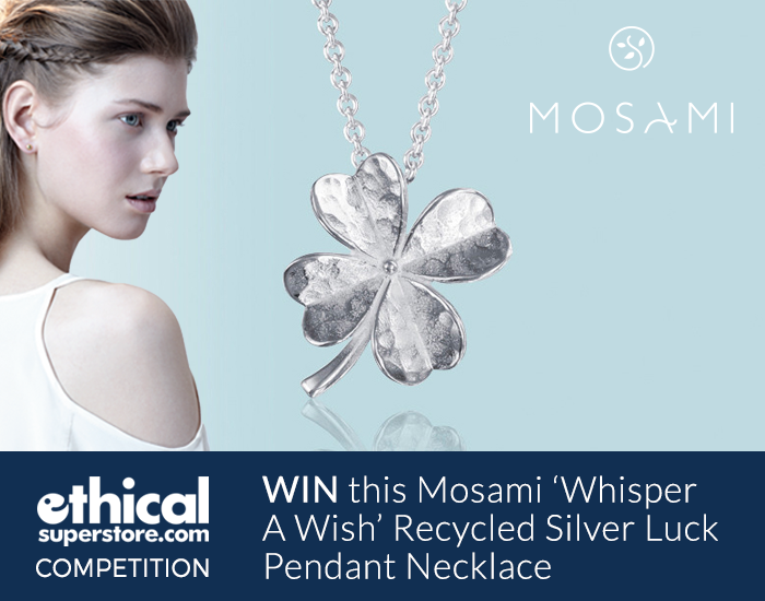 Win a Mosami Whisper A Wish Luck Pendant Necklace