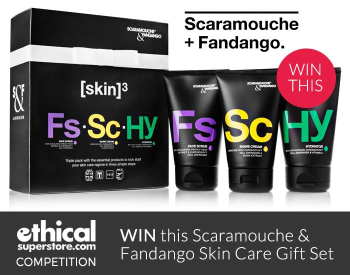 Win a Scaramouche & Fandango Skin Care Gift Set
