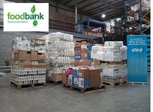 Newcastle Food Bank Donation