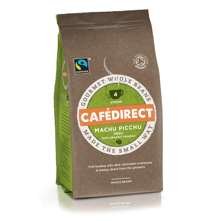 Cafédirect Machu Picchu Organic Gourmet Coffee Beans