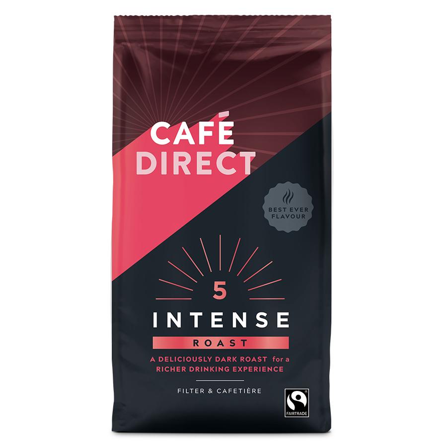 Cafedirect Intense Roast Fresh Ground Coffee - 227g