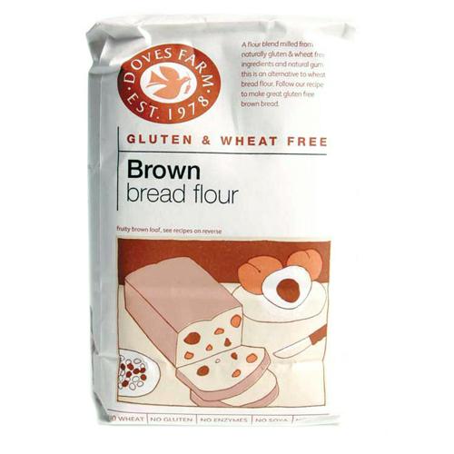 Doves Farm Brown Bread Flour  Gluten Free  1kg