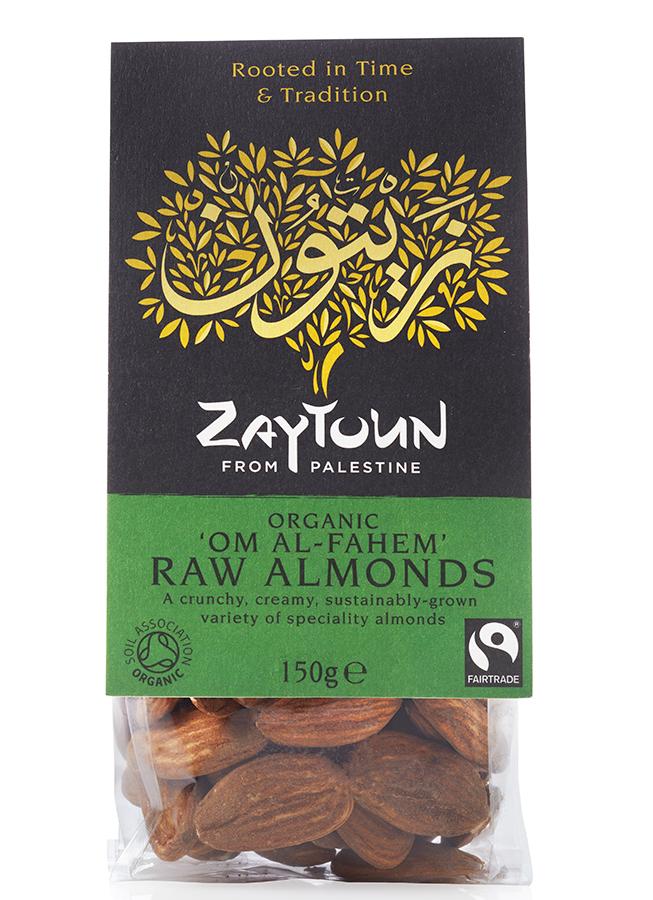 Zaytoun Palestinian Almonds 150g