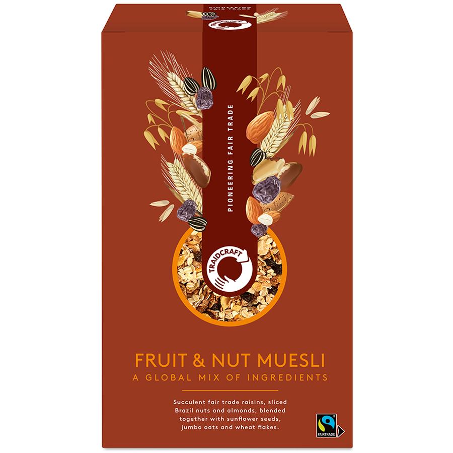 Traidcraft Fruit and Nut Muesli - 500g