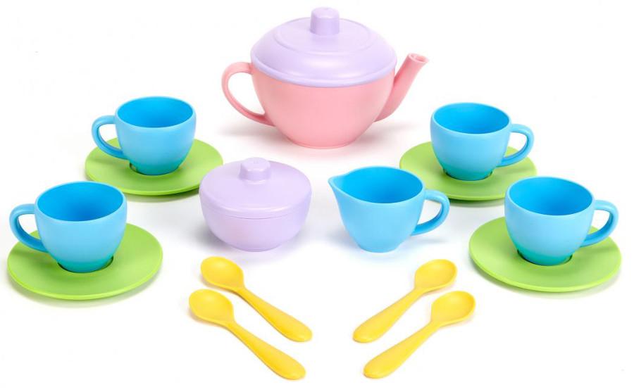 Green Toys Recycled Tea Set