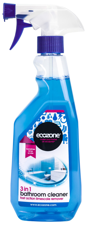 ecozone 3 in 1 bathroom cleaner and limescale remover. Black Bedroom Furniture Sets. Home Design Ideas