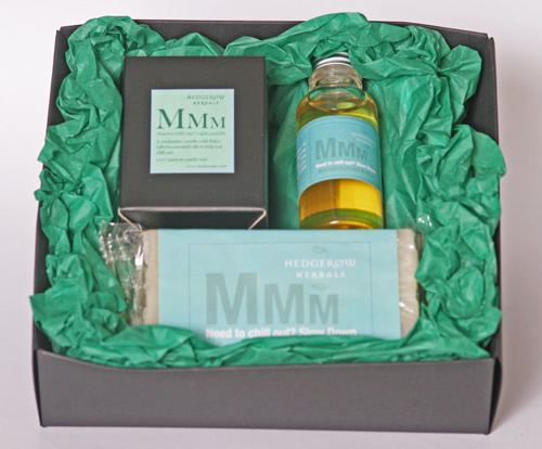 Gifts Hedgerow Herbals MMM Chill Out Slow Down Gift Box