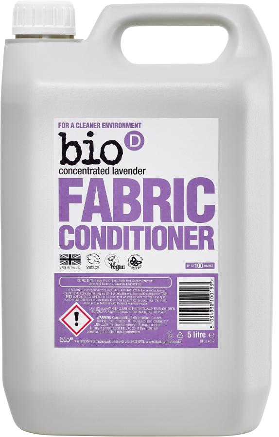 Bio D Concentrated Fabric Conditioner - Lavender - 5L