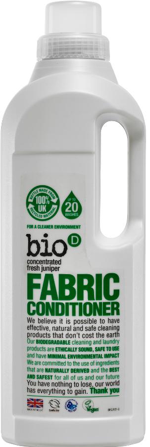 Bio D Concentrated Fabric Conditioner - Fresh Juniper - 1L