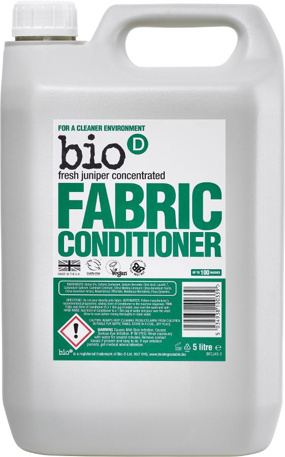 Bio D Concentrated Fabric Conditioner - Fresh Juniper - 5L