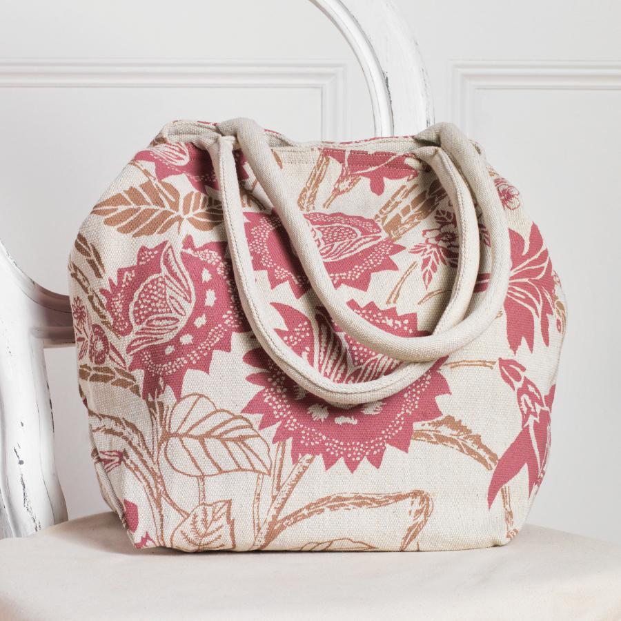 General Clothing  Trailing Flower Handloom Bag