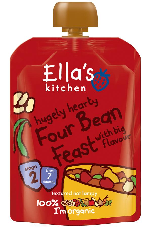 Ella's Kitchen Four Bean Feast 130g - Ella's Kitchen