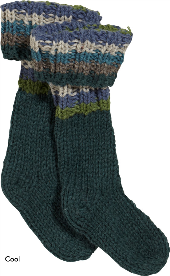 Free Knitting Pattern For Welly Socks : Pachamama
