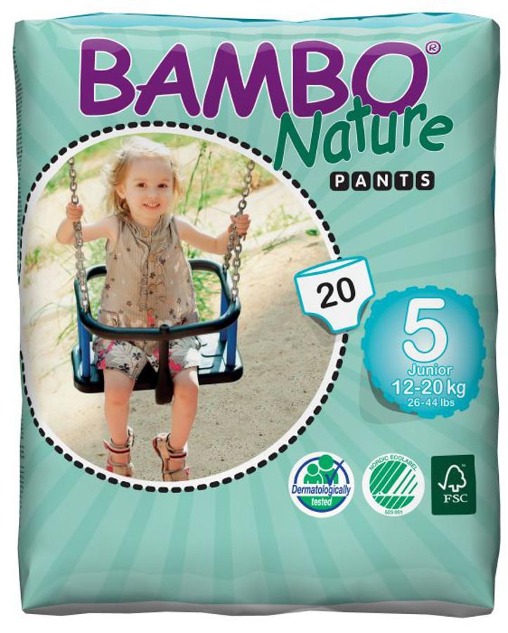 Image of Bambo Nature Training Pants - Junior - Pack of 20