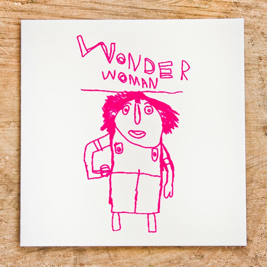 ARTHOUSE Unlimited Charity Wonder Woman Card