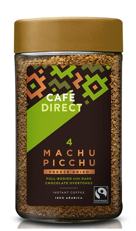 Cafedirect Fairtrade Machu Picchu Instant Coffee - 100g