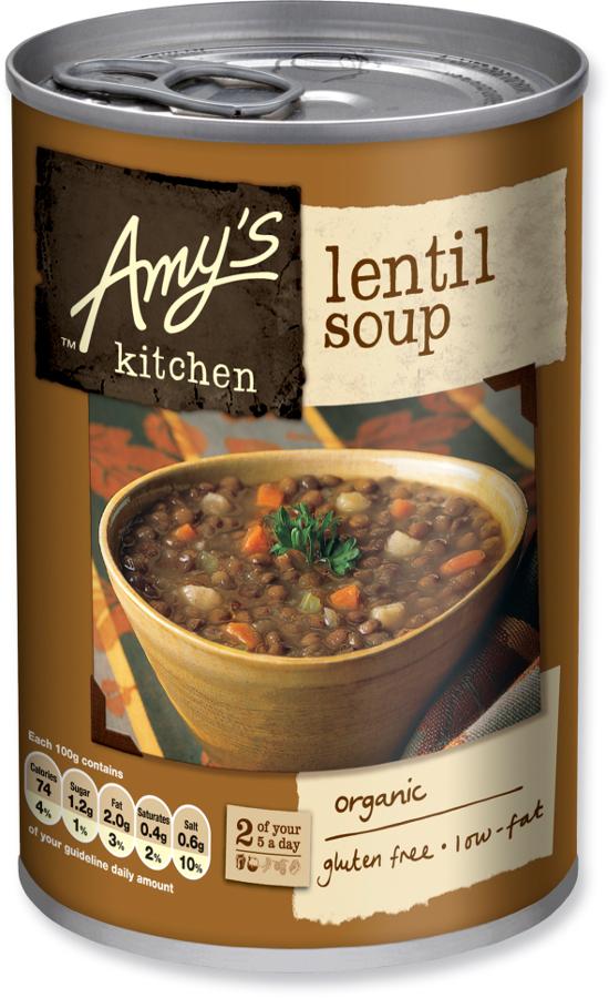 Fantastic Pack Of 2 Amys Kitchen Lentil Soup 400G Interior Design Ideas Inamawefileorg