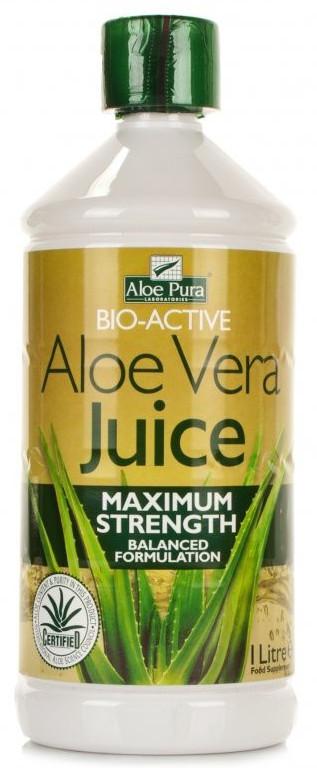 Aloe Pura Aloe Vera Juice - Maximum Strength - 1L