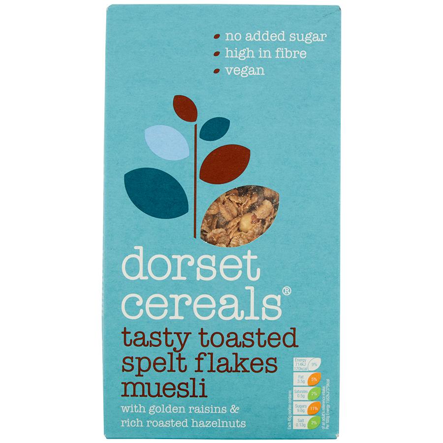 Dorset Cereals Tasty Toasted Spelt Flakes Muesli - 570g