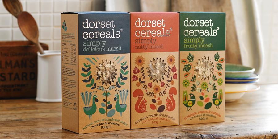 dorset cereals simply fruity muesli   820g   dorset cereals