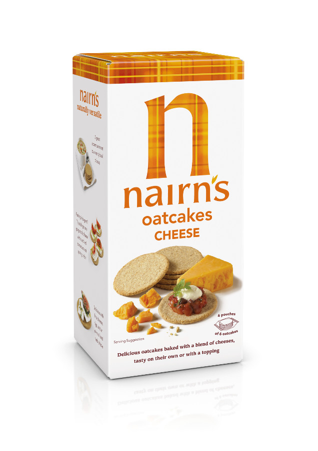 Nairn S Cheese Oatcakes 200g Nairns Ethical Superstore