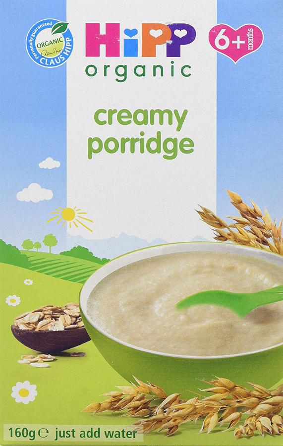 HiPP Organic Creamy Porridge - 6m+ - Dried - 160g