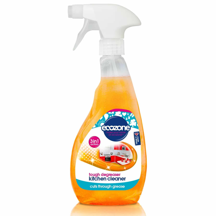 Ecozone 3 in 1 Kitchen Cleaner and Degreaser - 500ml