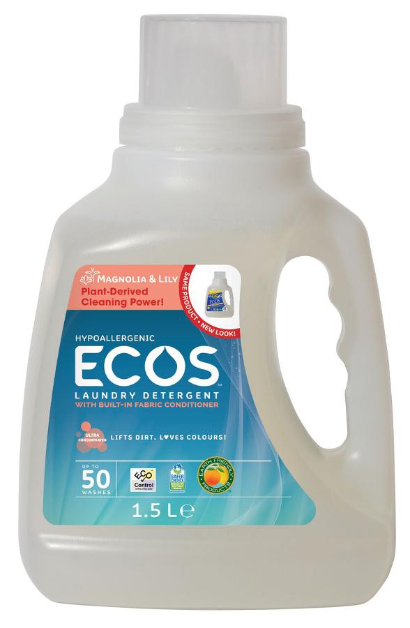 Ecos Laundry Liquid Magnolia Amp Lily 1 5l 50 Washes